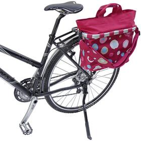 KlickFix Reisenthel Bikebasket Oval M funky dots 2